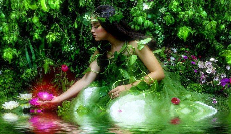 Женщина - источник радости бытия.