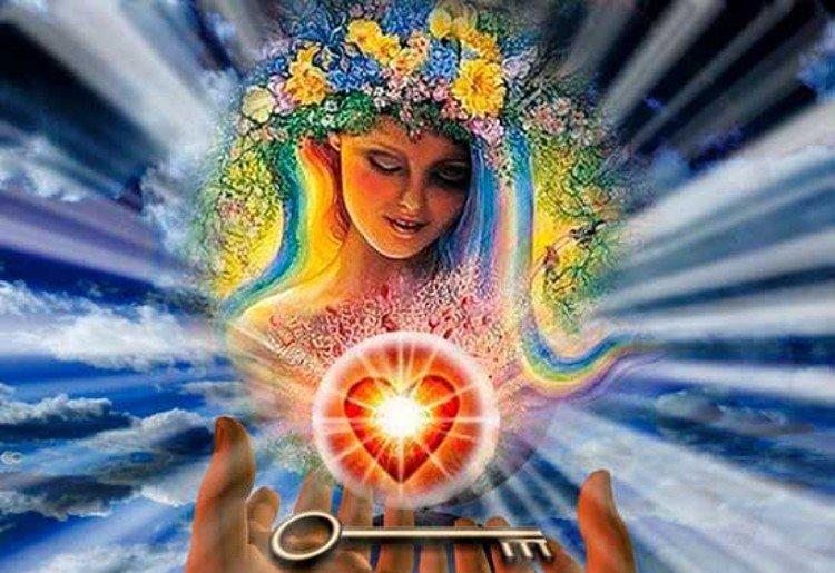 красота заложена в душе женщины