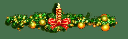 новогодний разделитель