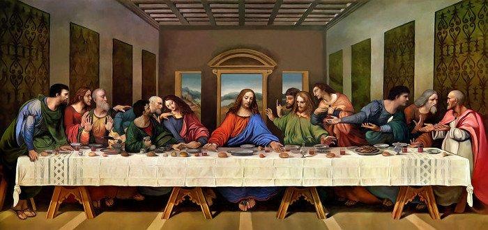 Картина «Тайная вечеря»